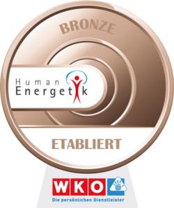 Auszeichnung Qualitätssicherung Humanenergetik BRONZE